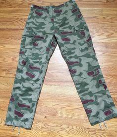 Mens Mil-Tec Bundesgrenzschut BGS Camo BDU Sumpfmuster German Trousers Pants M #MilTec #Cargo