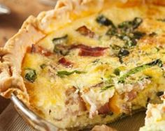 ** My favourite**This ham and spinach quiche is a great savory brunch or dinner. Ham And Spinach Quiche Recipe from Grandmothers Kitchen. Ham And Spinach Quiche, Bacon Quiche, Cheese Quiche, Frittata, Quiches, Superfood, Brunch Recipes, Breakfast Recipes, Bacon Crisps