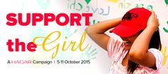 Join Hagar this October 5-11 for our Support the Girl campaign. Stay tuned as we post updates all about girls.#supportthegirl https://hagarinternational.org/international/support-the-girl/