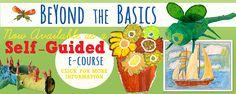 Beyond-the-Basics-e-course.  Teaching Art.