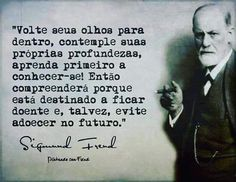 psicologia – Opinião Central Sigmund Freud, Freud Quotes, Mind Blowing Quotes, Funny Quotes, Life Quotes, I Ching, Psychology Quotes, Study Notes, Be A Nice Human