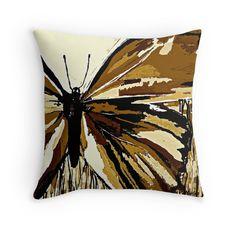 An Autumn Butterfly so Brown:Saundramylesart