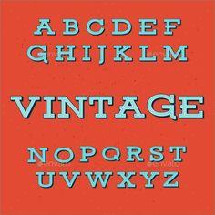 20+ Vintage Fonts - Free OTF, TTF Format Downlaod | Free & Premium Templates Vintage Fonts Free, Retro Vintage, Vintage Style, Retro Style, Alphabet Templates, School Icon, Vintage Embroidery, Embroidery Ideas, Modern Fonts