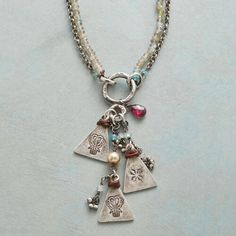 WATER TEMPLE NECKLACE: View 1