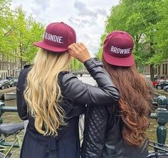 Image of BROWNIE & BLONDIE CAPS