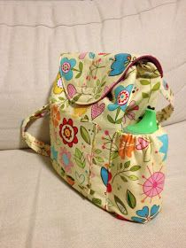 Sew Adorable Fabrics: Tutorial Small Kindergarten / Gan Back Pack