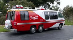 Built by General Motors' GMC Truck and Coach Division, the GadAbout was a Coca-Cola customized motorhome that Coke gave away in a national