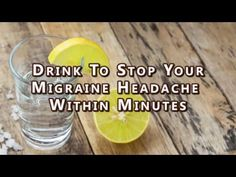 You're having a migraine? Make yourself a potion made from lemon and salt that will stop the pain in 3 minutes! (RECIPE)