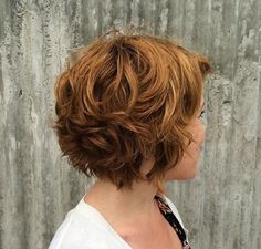 Textured choppy chin length bob