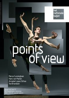 Dutch National #Ballet #Poster by Me Studio.
