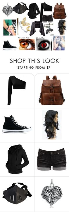 """Untitled #189"" by shadowfang52 on Polyvore featuring Converse, Pieces, Bling Jewelry and BERRICLE"