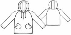 Children's Hoodie Free Sewing Pattern