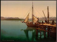 Set sail in Norway ~ vintage image c. 1890-1900