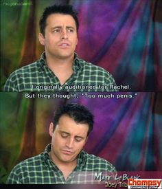 I have a theory Matt LeBlanc is really just Joey in real life.