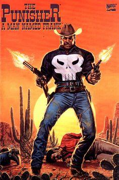 The Punisher: A Man Named Frank (Marvel Comics - June 1994) Illustrator: Bob Larkin