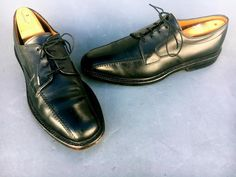 3bda0ce8488 Allen Edmonds Hillcrest Oxford BLACK SIZE 9 1 2 B~GOOD CONDITION~MADE