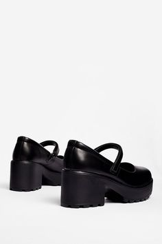 Chunky Platform Mary Janes | Nasty Gal Juicy Couture Purse, Socks And Heels, Mary Jane Shoes, More Cute, Brogues, Nasty Gal, Block Heels, Cleats, Mary Janes
