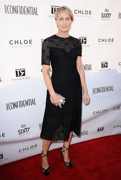 Best Actress in a TV Series Drama: Robin Wright, House of Cards // 72nd annual Golden Globes Awards