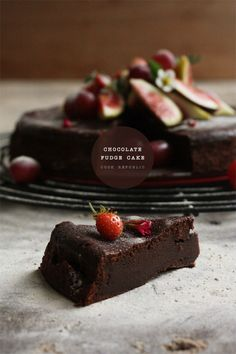 Chocolate Fudge Cake - Cook Republic  Why buy chocolates when you can make this!!!!!