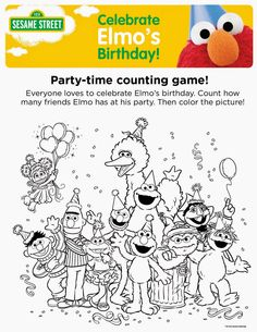 20 Best Coloring Pages - Sesame Street images | Printable coloring ...