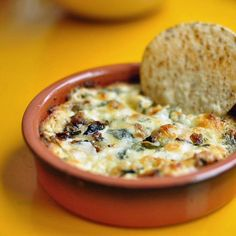 Let's face it, people love queso. This mushroom and goat cheese queso is no exception. The damage: 3 ounces...