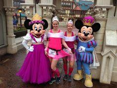 I Run For Wine: 2014 runDisney Glass Slipper Challenge Recap Run Disney Costumes, Running Costumes, Running Outfits, Princess Running Costume, Princess Half Marathon, Captain Hook, Glass Slipper, Harajuku, Mickey Mouse