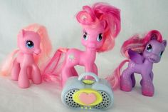 3 Hasbro My Little Pony Figures -StarSong-Pinkie Pie-Mother Pinkie Pie- 4 Inches #Hasbro