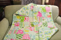 "Heather Bailey ""Nicey Jane"" Tumbler quilt"