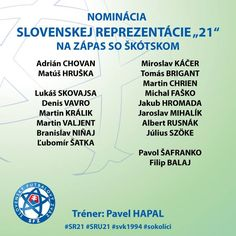 "Nominácia Slovenska ""21"""