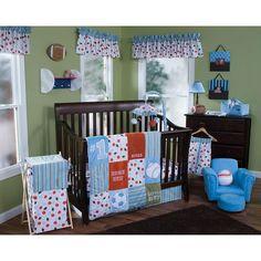 "Trend Lab Little MVP 6-Piece Crib Bedding Set - Blue - Trend Lab - Babies ""R"" Us"