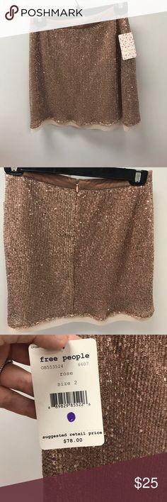 Free People sequin skirt NWT Free People Skirts Mini
