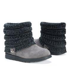 Look what I found on #zulily! MUK LUKS Gray Patti Boot - Women by MUK LUKS #zulilyfinds