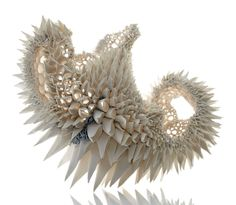 Hand Built Porcelain Sculptures by Nuala ODonovan Mimic Fractal Patterns Found in Nature