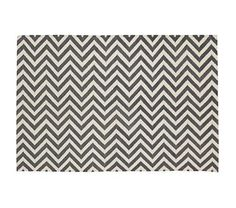 Chevron and On Rug (Grey cotton) - 4x6 $179, 5x8 $299 - Land of Nod