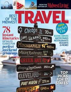 Not much time to travel? Explore the Midwest on weekends or short weekday trips with our two-day getaway itineraries.