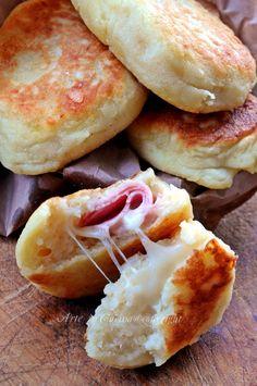 Tasche di patate ripiene ricetta sfiziosa vickyart arte in cucina