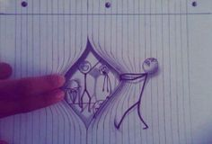 3d drawings on paper | Amazing 3d Drawings On Paper