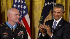 Obama awards Medal of Honor to Afghan war veteran Army Staff Sgt. Ty M. Carter