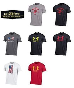 Other Mens Clothing 313: Under Armour Men S-U.S. Marines Charged Cotton T-Shirt 7 Styles To Choose From -> BUY IT NOW ONLY: $34.99 on eBay!