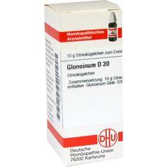 GLONOINUM D 30 Globuli:   Packungsinhalt: 10 g Globuli PZN: 04218925 Hersteller: DHU-Arzneimittel GmbH & Co. KG Preis: 5,50 EUR inkl. 19…