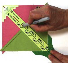 Nancy Zieman No Hassle Triangles Gauge by Clover IMG_4187