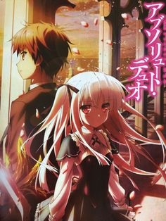 "Crunchyroll - ""Absolute Duo"" Anime Staff and Cast Listed"
