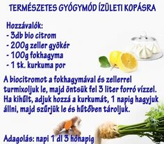 Természetes gyógymód ízületi kopásra | Socialhealth Homemade Tea, Neck Pain, Detox Drinks, Natural Healing, Herbal Remedies, Health Tips, Herbalism, Health Fitness, Herbs