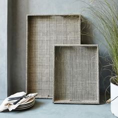 Woven Trays | west elm