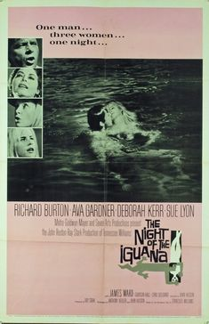 The Night Of The Iguana (1964) Original Movie Poster