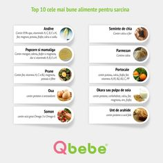 Top 10 cele mai bune alimente pentru sarcina Mai, Health, Salud, Health Care, Healthy