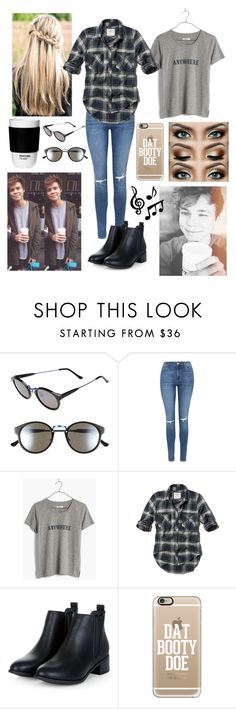 """""""Day with Ashton#195"""" by tkcostner ❤ liked on Polyvore featuring RetroSuperFuture, Topshop, Madewell, Abercrombie & Fitch, Casetify, ROOM COPENHAGEN, women's clothing, women, female and woman"""