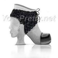 Картинки по запросу необычная обувь фото