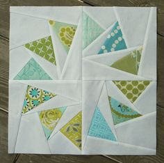 Circle of Geese block for Renee | Flickr - Photo Sharing!