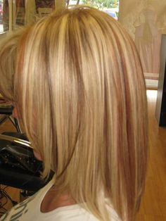 blonde-hair-with-red-lowlights-and-highlights-r2ccaea8 | Flickr - Photo Sharing!